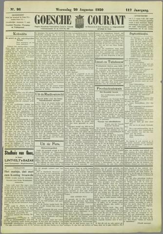 Goessche Courant 1930-08-20
