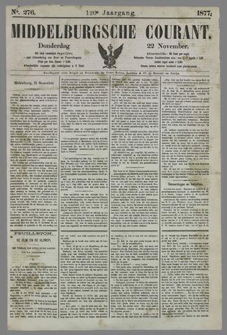 Middelburgsche Courant 1877-11-22
