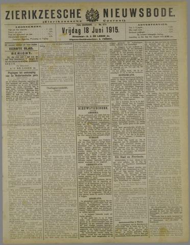 Zierikzeesche Nieuwsbode 1915-06-18