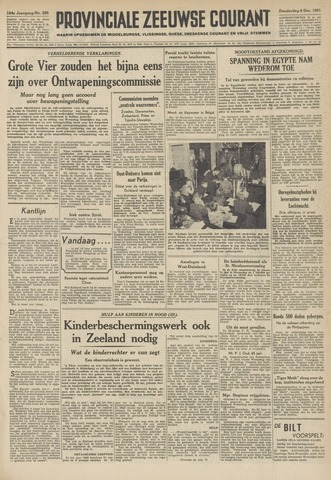 Provinciale Zeeuwse Courant 1951-12-06