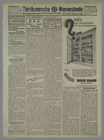 Zierikzeesche Nieuwsbode 1933-03-29