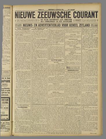 Nieuwe Zeeuwsche Courant 1924-08-21