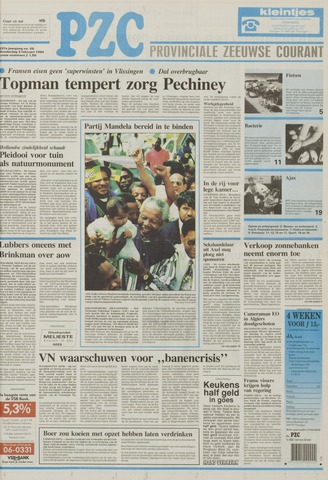 Provinciale Zeeuwse Courant 1994-02-03