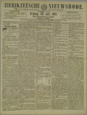 Zierikzeesche Nieuwsbode 1911-07-28