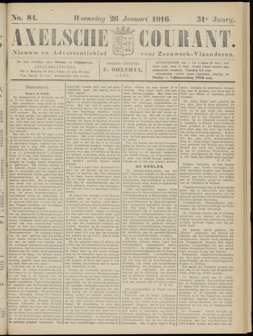 Axelsche Courant 1916-01-26