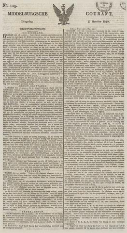 Middelburgsche Courant 1829-10-27