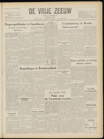 de Vrije Zeeuw 1952-12-09