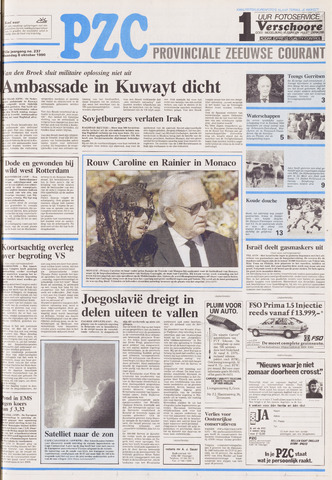 Provinciale Zeeuwse Courant 1990-10-08
