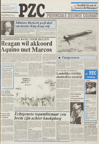 Provinciale Zeeuwse Courant 1986-02-11