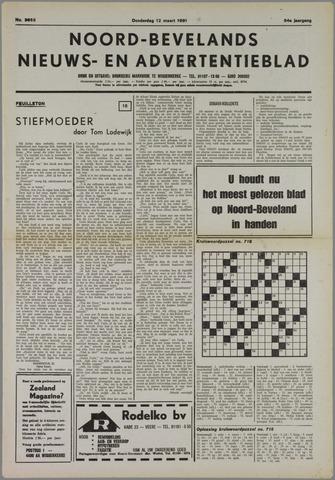 Noord-Bevelands Nieuws- en advertentieblad 1981-03-12
