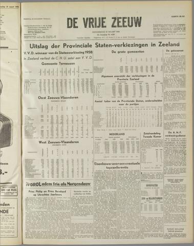 de Vrije Zeeuw 1958-03-27