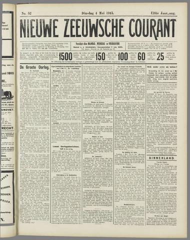 Nieuwe Zeeuwsche Courant 1915-05-04