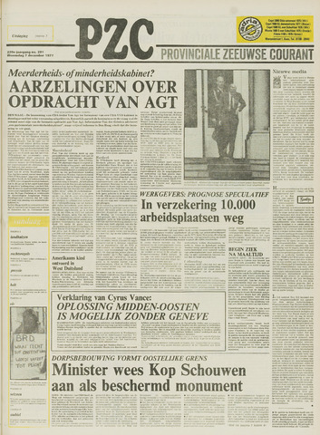 Provinciale Zeeuwse Courant 1977-12-07