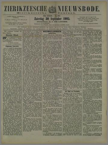 Zierikzeesche Nieuwsbode 1905-09-30