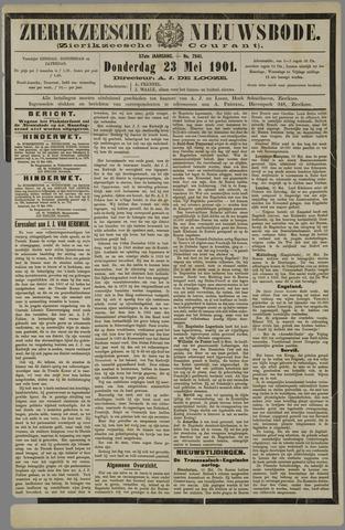 Zierikzeesche Nieuwsbode 1901-05-23