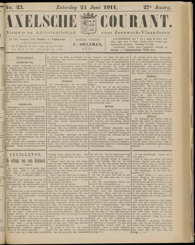 Axelsche Courant 1911-06-24