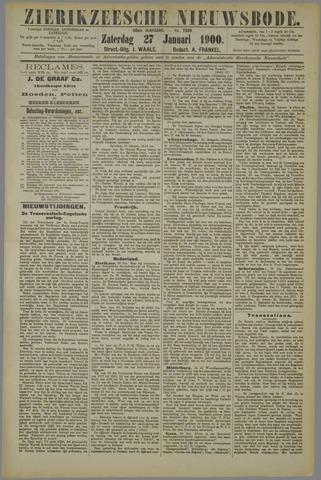 Zierikzeesche Nieuwsbode 1900-01-27