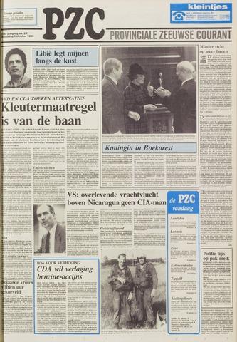 Provinciale Zeeuwse Courant 1986-10-08