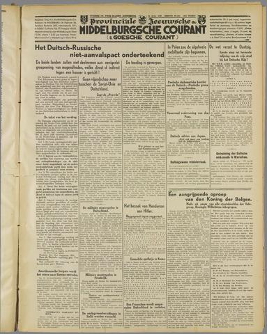Middelburgsche Courant 1939-08-24