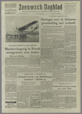Zeeuwsch Dagblad 1958-09-11