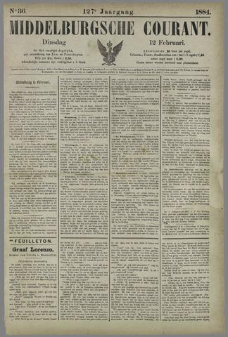 Middelburgsche Courant 1884-02-12