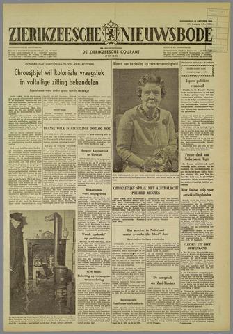 Zierikzeesche Nieuwsbode 1960-10-13
