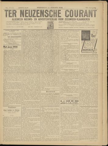 Ter Neuzensche Courant. Algemeen Nieuws- en Advertentieblad voor Zeeuwsch-Vlaanderen / Neuzensche Courant ... (idem) / (Algemeen) nieuws en advertentieblad voor Zeeuwsch-Vlaanderen 1936-01-08