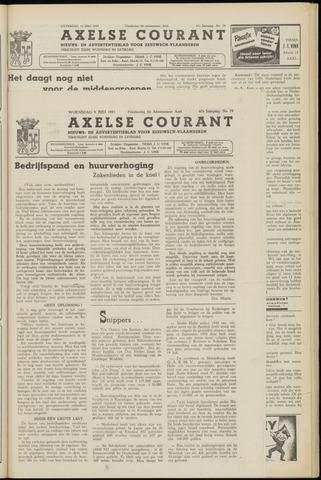 Axelsche Courant 1953-07-08