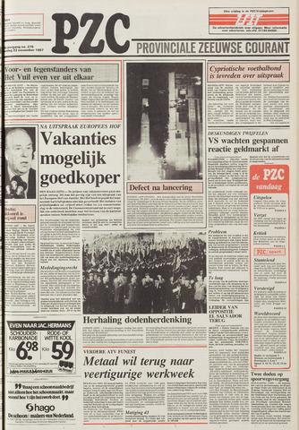 Provinciale Zeeuwse Courant 1987-11-23