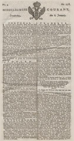 Middelburgsche Courant 1778-01-08