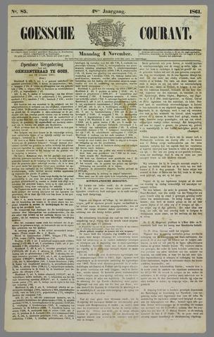 Goessche Courant 1861-11-04
