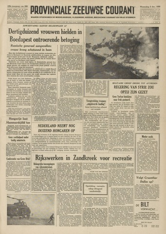 Provinciale Zeeuwse Courant 1956-12-05