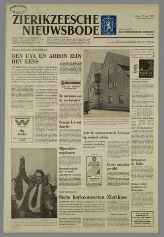 Zierikzeesche Nieuwsbode 1975-06-27