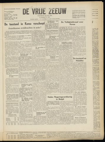 de Vrije Zeeuw 1950-06-28
