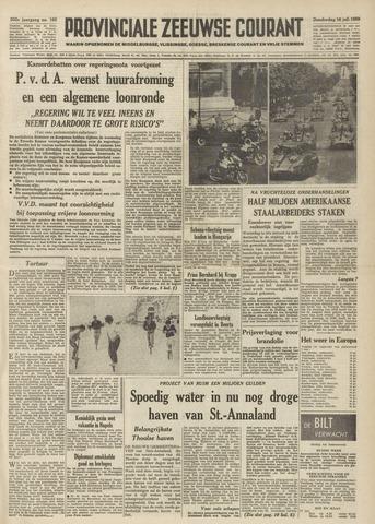 Provinciale Zeeuwse Courant 1959-07-16