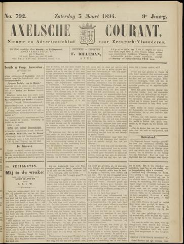 Axelsche Courant 1894-03-03