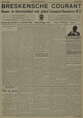 Breskensche Courant 1937-01-26