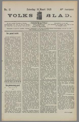 Volksblad 1923-03-10