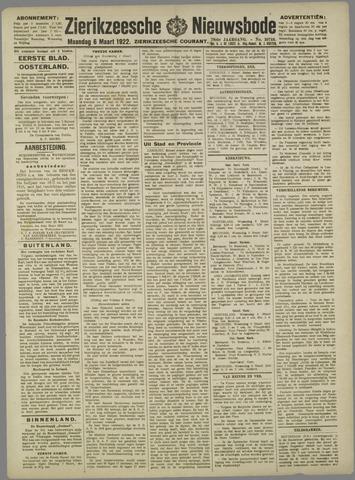 Zierikzeesche Nieuwsbode 1922-03-06