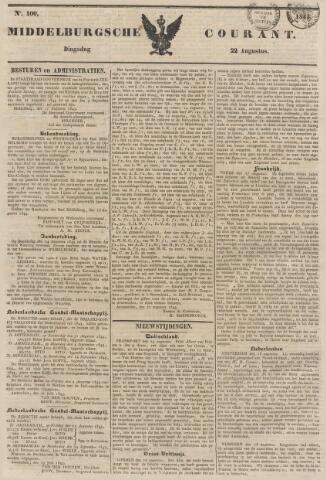 Middelburgsche Courant 1843-08-22