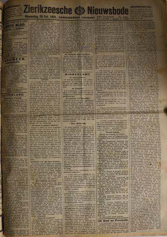 Zierikzeesche Nieuwsbode 1921-10-26