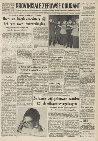 Provinciale Zeeuwse Courant 1956-07-07