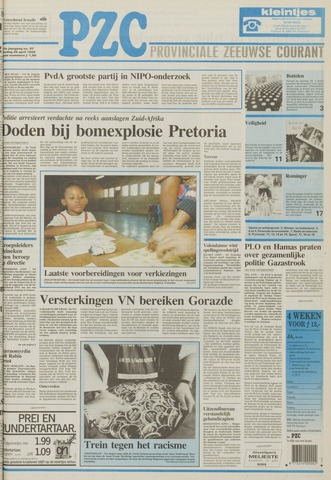 Provinciale Zeeuwse Courant 1994-04-26