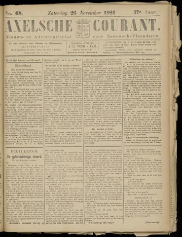 Axelsche Courant 1921-11-26
