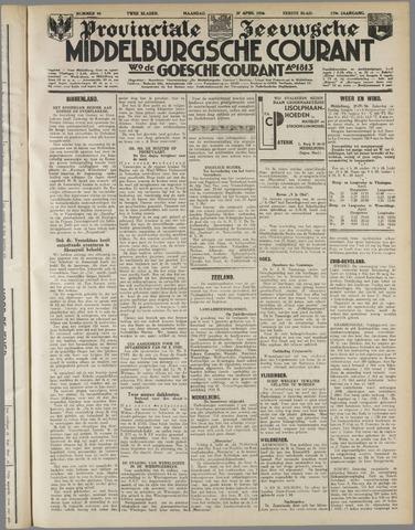 Middelburgsche Courant 1936-04-27
