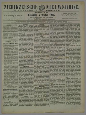 Zierikzeesche Nieuwsbode 1905-10-05