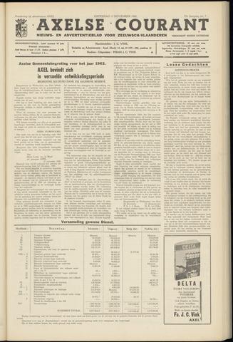 Axelsche Courant 1962-11-17