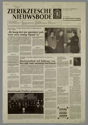 Zierikzeesche Nieuwsbode 1988-11-28