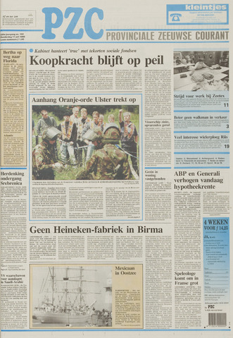 Provinciale Zeeuwse Courant 1996-07-11