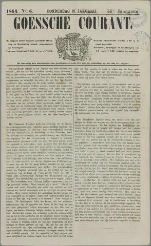 Goessche Courant 1864-01-21